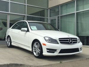 2014 Mercedes-Benz C-Class C 300 4MATIC/AWD/HEATED SEATS/NAVIGAT