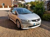Honda Civic 2.0 i-VTEC Type R GT 2008 EXCELLENT CONDITION, LOW MILEAGE, SAT NAV, BLUETOOTH, FSH
