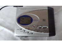 Sharp portable minidisc recorder MD-SR505