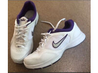 Nike ladies trainers size 4