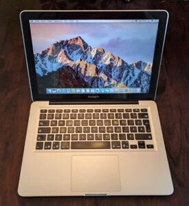 Apple MacBook Pro 13po Late 2011 4go RAM HDD 500go