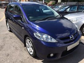 2006/56 MAZDA 5 2.0D FURANO 5 DR MPV BLUE,DIESEL ESTATE,7 SEATER,GREAT SPEC FAMILY CAR,DRIVES WELL