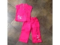 Cerisi oriental style trouser suit age 4. Years