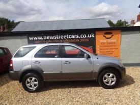 KIA SORENTO XE CRDI 2006 Diesel Manual in Blue Only 80k Miles