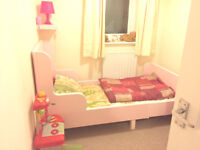 Girl's Extendable Bed from IKEA - EXCELLENT CONDITION