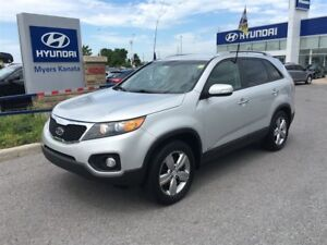 2013 Kia Sorento EX LEATHER, SUNROOF, NAV, TRADE IN