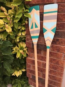 Hand painted decor paddles