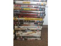 Over 70 dvds excellent condition