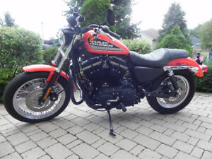 eye catching Sportster 883R fuel injected Low KM