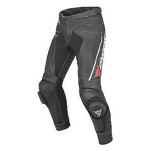 Dainese Delta Pro Leather Motorcycle Pants (Mens, Euro size 52)