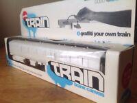 Blank Canvas Train. Rare