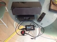 Sony Speaker System, SRS-GU10iP. With IPod nano docking station.