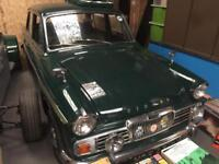 BARN FIND. RARE SINGER GAZELLE 1725cc CLASSIC CAR.