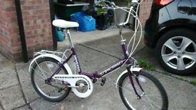 Great condition folding bike