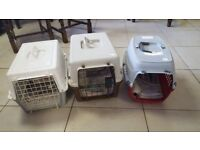 3 Pet carriers £5 Each