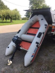 Nissan dinghy / tender with 3hp Evenrude