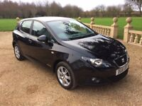 SEAT IBIZA 1.2 CR TDi Copa, FSH, Drives Perfect, £20 Tax (black) 2011