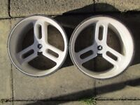 motocaddy wet weather wheels in good condition.