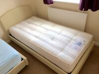 Single Bed and Sealy Posturepedic Mattress (Almost New)