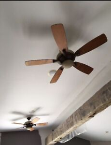 Selling two ceiling fans light fixtures