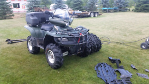 2006 king quad and accessories for sale