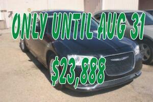 2016 Chrysler 300 Limited, LEATHER, NAV, S/ROOF, BT