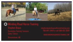 Winding Road Horse Training Clinics 2017 with Stephen Braun