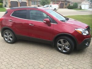 2014 Awd Buick Encore Leather edition new condition  only 3000km