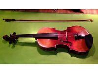 Exquisite Violin, German-made, c.1890