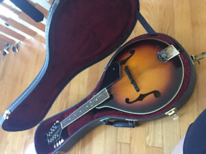 Mandolin and Hard Case