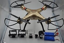 Lost Syma x8hc Drone rowntree's park