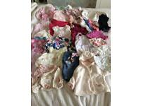 Bundle of baby girls clothes 0-3 months