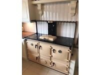 Rayburn 4 Oven, Heats water Water and Radiators. Oil Fired. Excellent Condition.