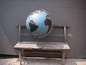 Heavy Metal World globe made for School's in the 30's to 40's.
