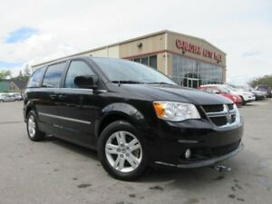 2016 Dodge Grand Caravan CREW+, NAV, BT, HTD. SEATS, 26K!