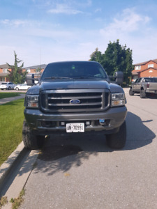 2002 FORD F250 -4X4- LARIAT-TURBO DIESEL- SUPERDUTY