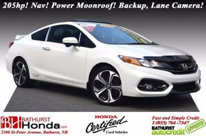 2015 Honda Civic Coupe SI Honda Certified! i-VTEC - 205hp! Navig