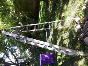 8' Aluminum folding ladder