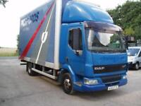 2003 DAF TRUCKS FA LF45.170 BOX LORRY WITH SIDE DOORS 7500 KG GVW NO VAT TO PAY