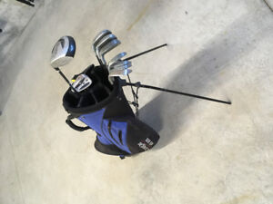 Assortment of used clubs