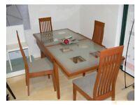Expandable Glass Calligaris Enterprise Dining Table