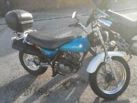 Suzuki Vanvan 125 motorcycle