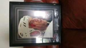 Autographed Todd Bertuzzi Vancouver Canucks framed photo