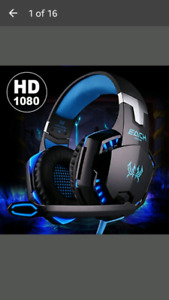 Noise Cancelling Gaming Headset / Over Ear Game Gaming Headphone