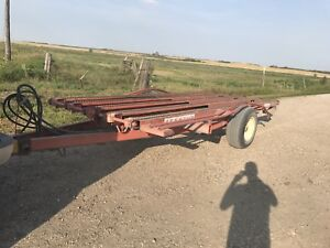 Bale hauler/stack mover trailer
