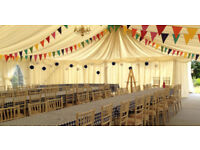 Bunting in variety of colours, sizes - ideal for weddings, events, parties