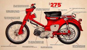 Honda C105 ( C 102 ) Parts , Super Cub.