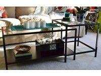 Coffee Table - IKEA Vittsjo (only 2 years old half price)