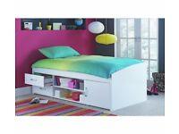 Yanniek Cabin Bed Frame - White