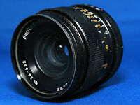 CAMERA LENS. PHOTAX PARAGON 1 : 2.8 f = 28 mm. EXCELLENT CONDITION AND ORDER